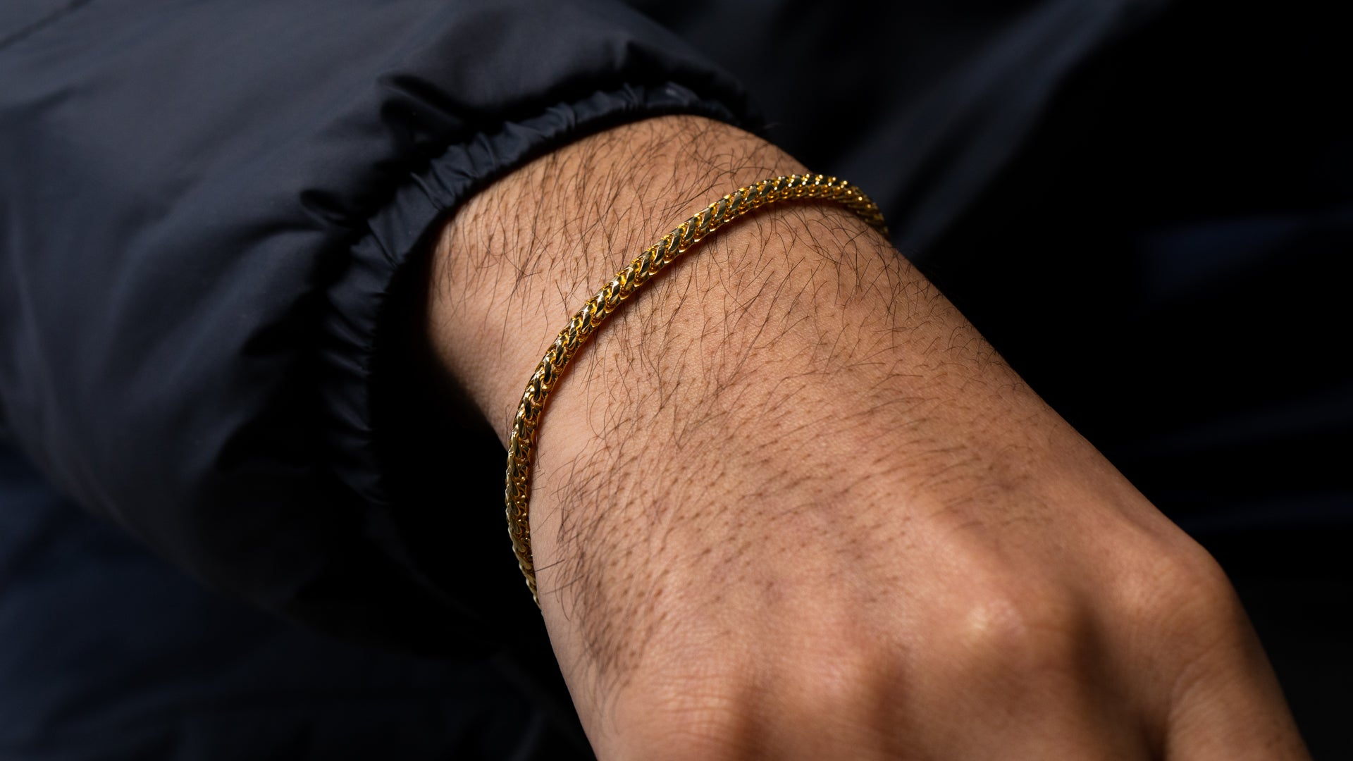 10K Yellow Gold Basra Link Bracelet
