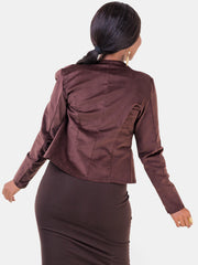 Vivo Corduroy Ali Jacket - Brown