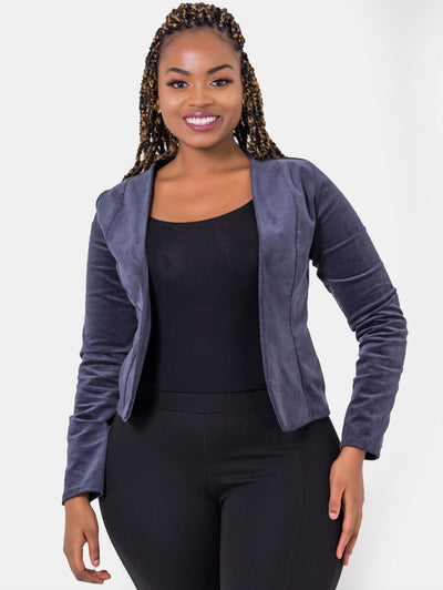 Vivo Corduroy Ali Jacket - Grey