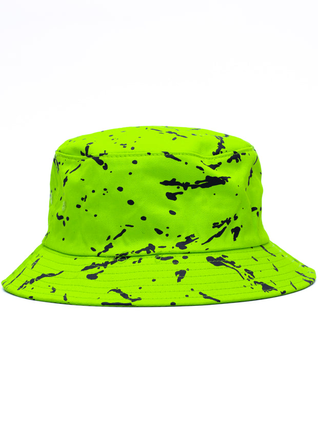 AfroDame Bucket Hat - Lime Green