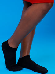Afrokiks Plain Socks - Black