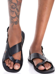 Ikwetta Formal Sandals - Black