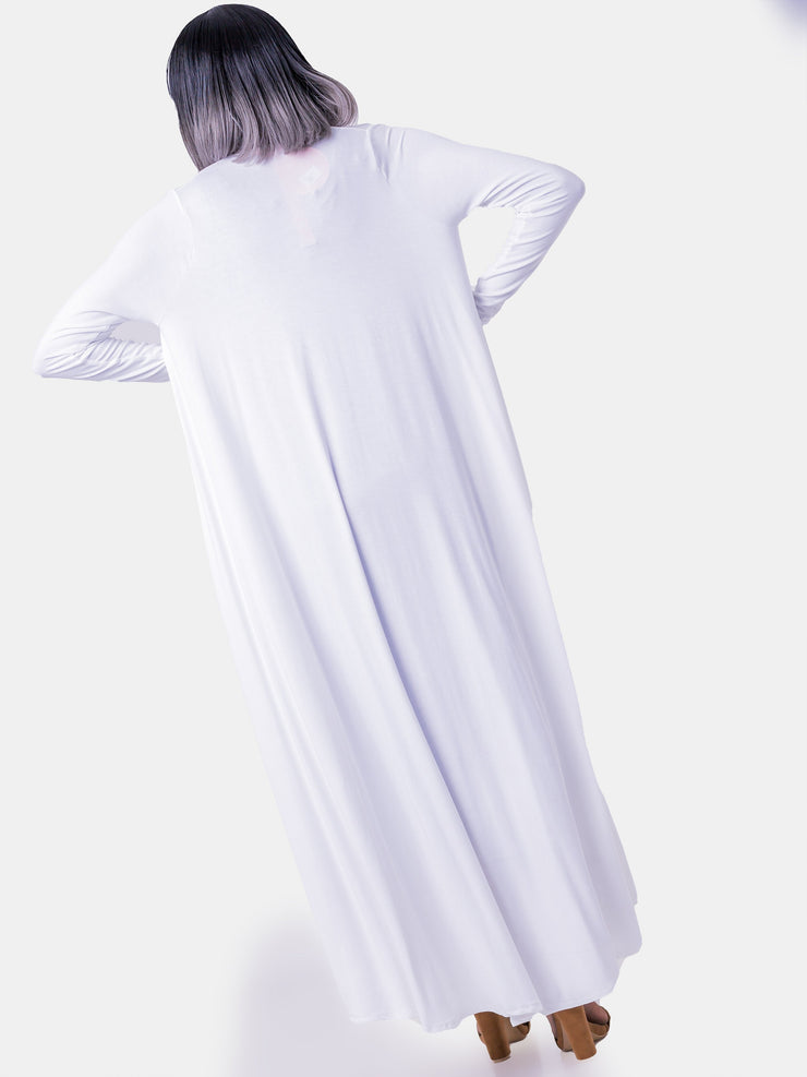 Vivo Long Sleeve Tent Waterfall - Off White
