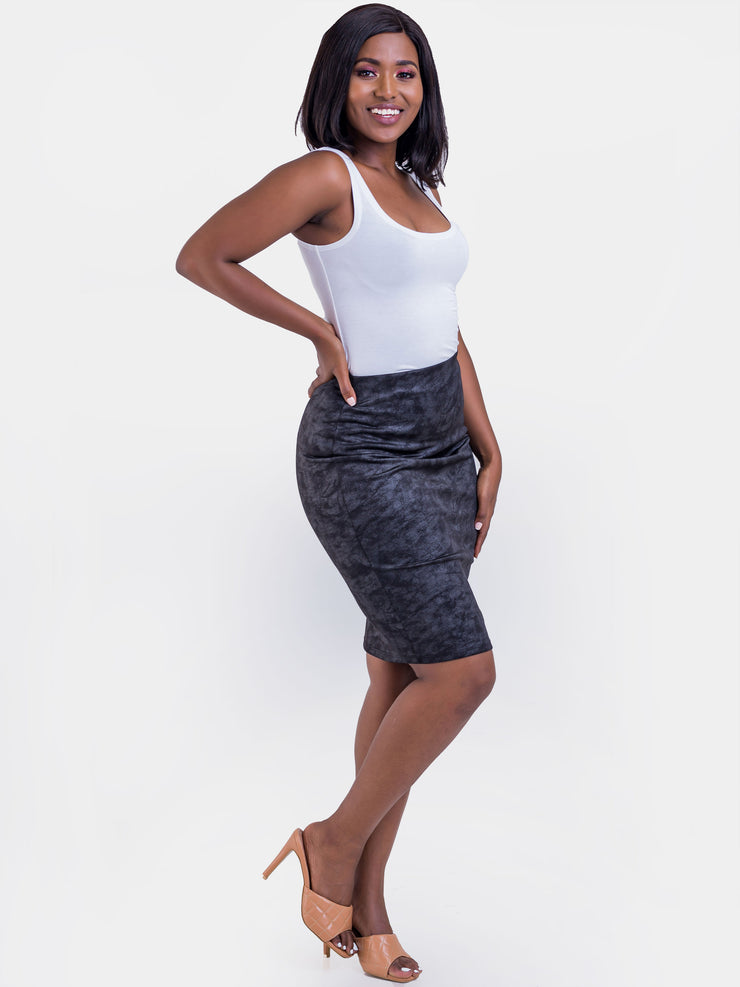 Vivo Naila Pencil Skirt - Black