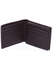 Ranks Leather Big Leather Wallets - Chocolate Classic