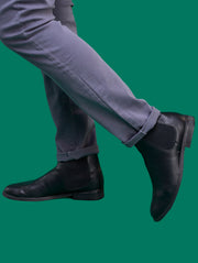 Umbo Men's Chelsea Boots - Black