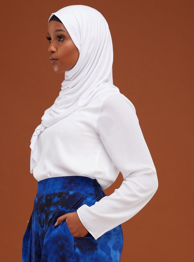 Vivo Basic Hijab Head Wrap - Off White