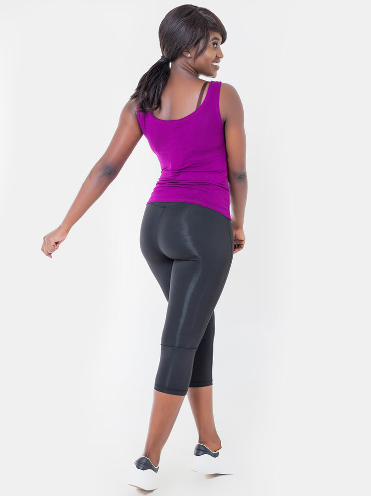 Vivo Capri Leggings - Black