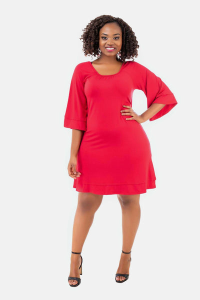 Vivo Danielle Dress - Red