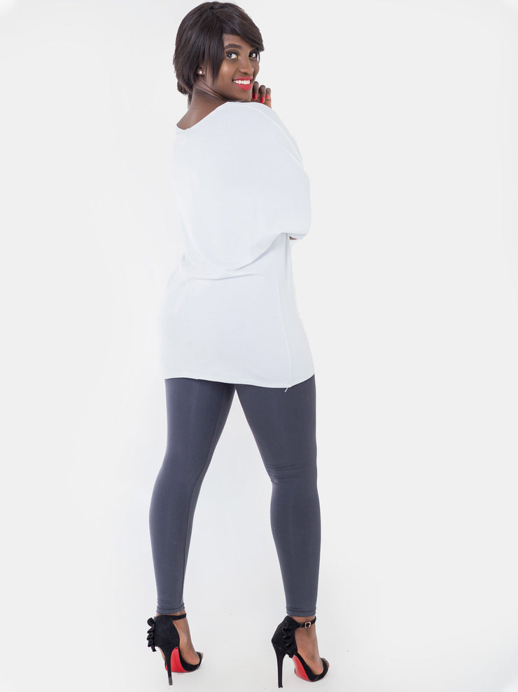 Vivo Grey Full Length Leggings