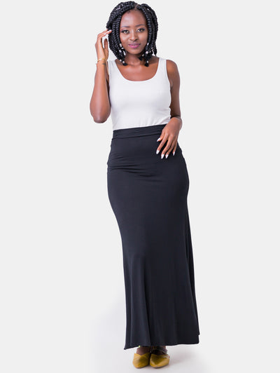 Vivo Lucille Maxi Skirt - Black