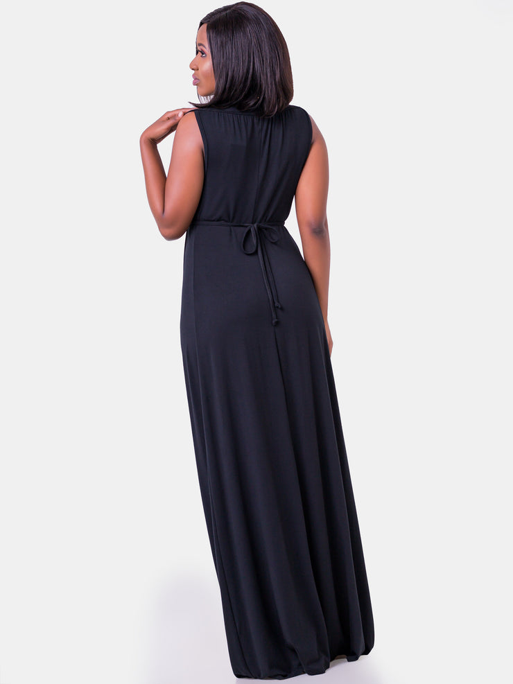 Vivo Nanci Maxi Dress - Black