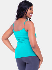 Vivo Spaghetti Tank Top - Sea Green