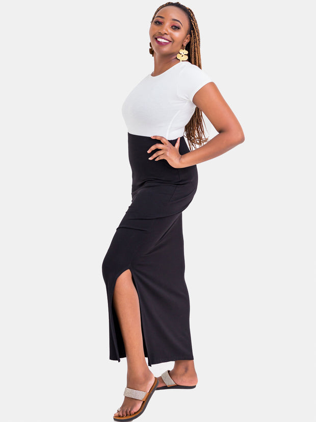 Vivo Valerie Maxi Skirt - Black