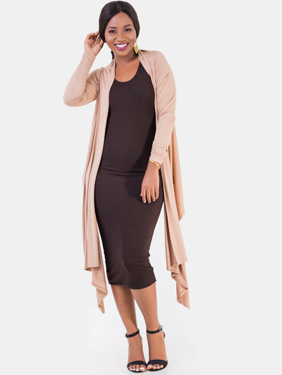 Vivo Yoga Wrap - Taupe - Shop Zetu