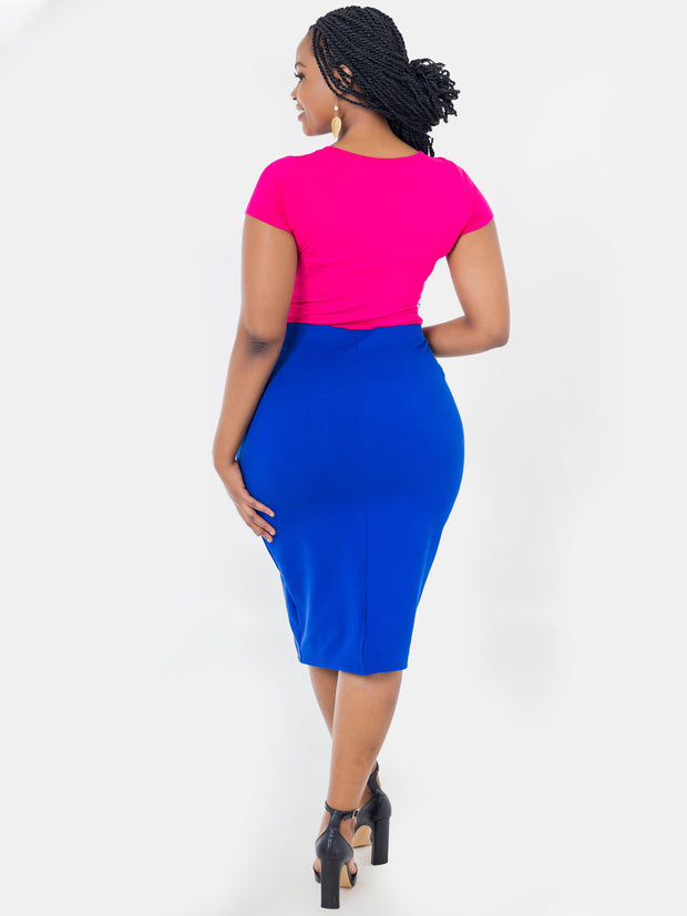 Vivo Tinola Skirt - Royal Blue