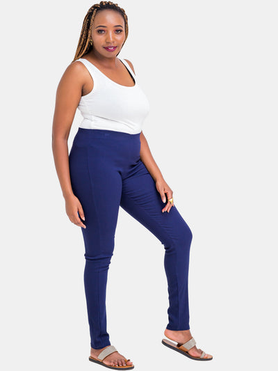 Vivo Cigarette Pants - Navy Blue