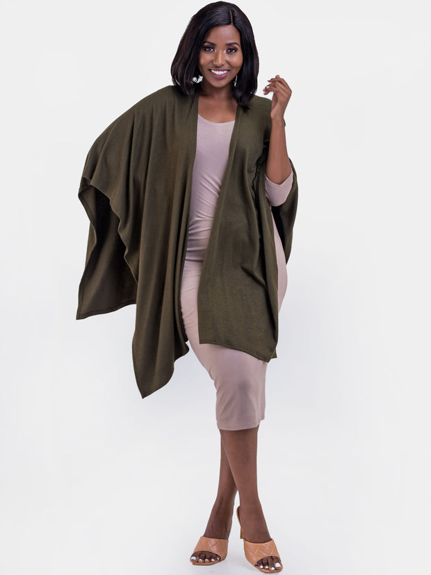 Vivo Rosie Shawl - Hunters Green