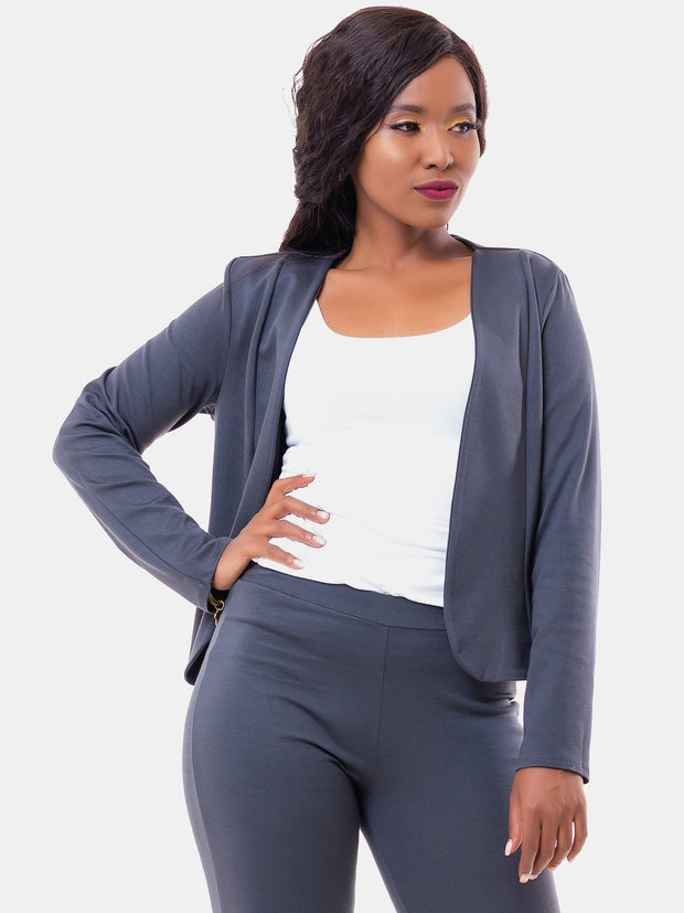 Vivo Ali Jacket - Dark Grey - Shop Zetu
