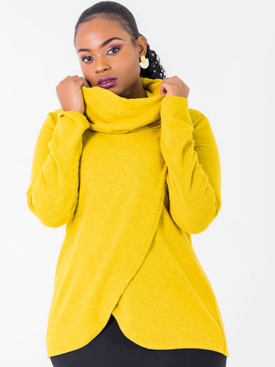 Vivo Tulip Sweater - Mustard