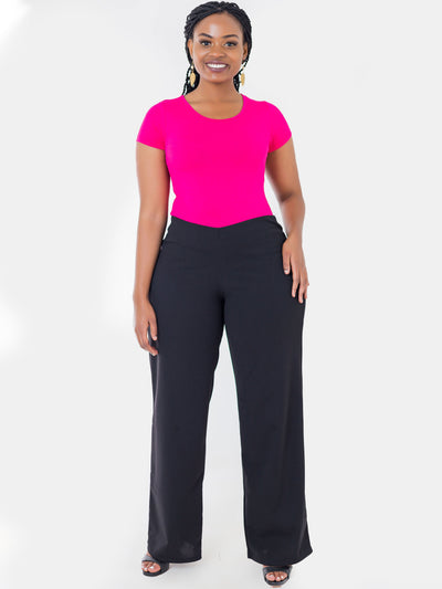 Vivo Escape Wide Leg Pants - Black