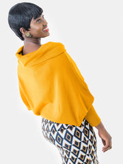 Vivo Spinners Dolman Sweater - Mustard