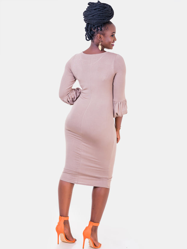 Vivo Puff Sleeve Bodycon