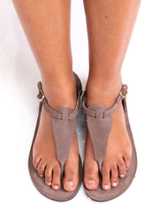 Sipdada Miha Sandals - Chocolate - Shop Zetu