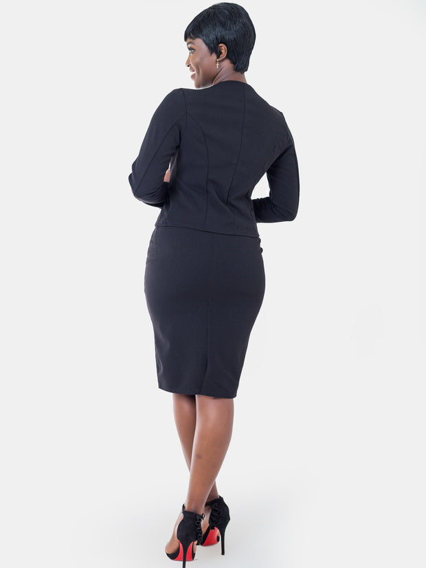 Vivo Escape Pencil Skirt - Black