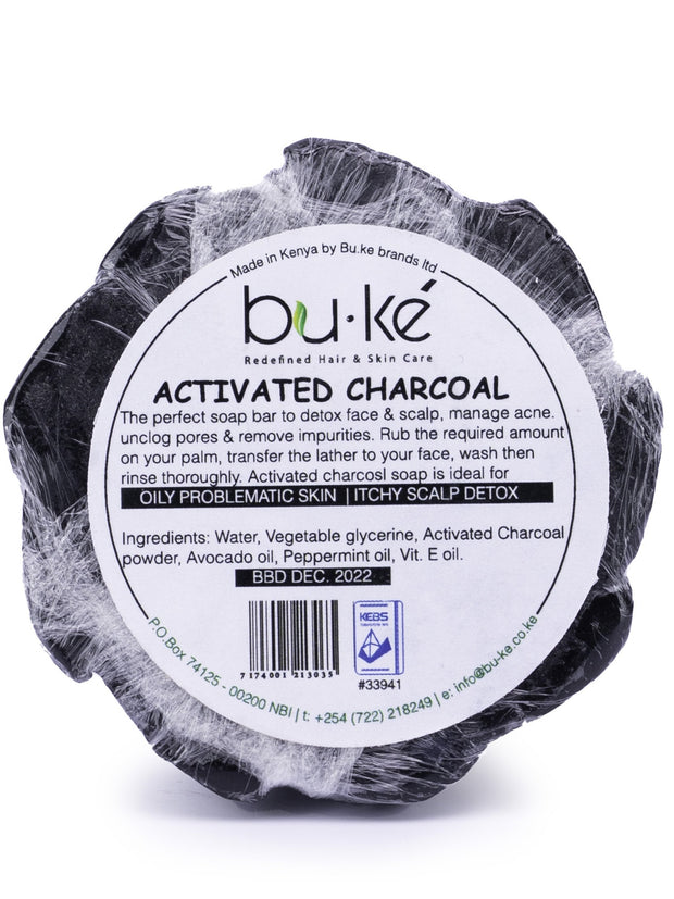 BU-KE' Activated Charcoal Soap - Shop Zetu