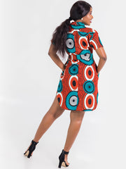 Kidosho Pambo Shirt Dress - VivoWoman