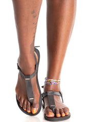 Ikwetta Switcher Sandals - Black