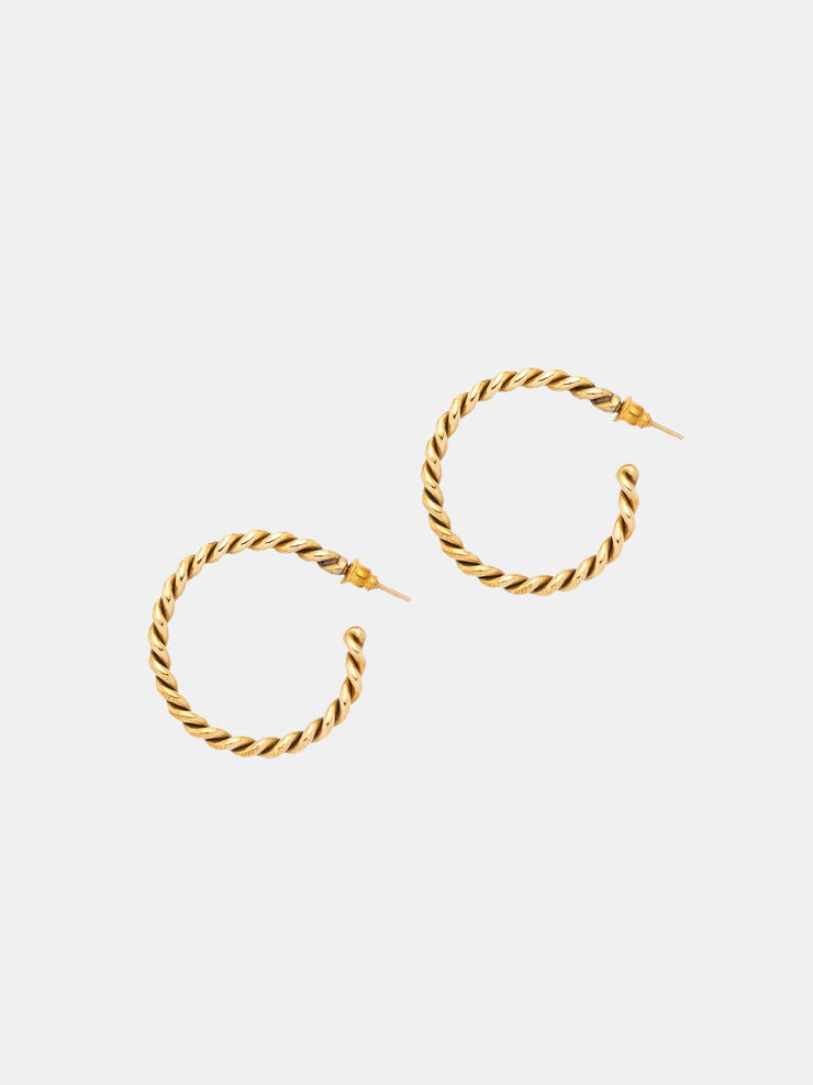 Kipato Braided Hoops (Small) - VivoWoman
