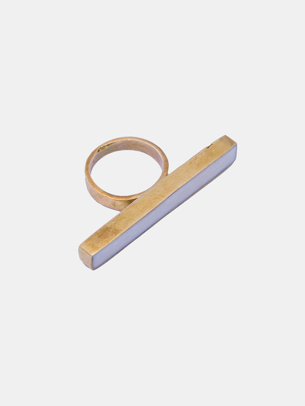 Kipato Twig Ring - Cream