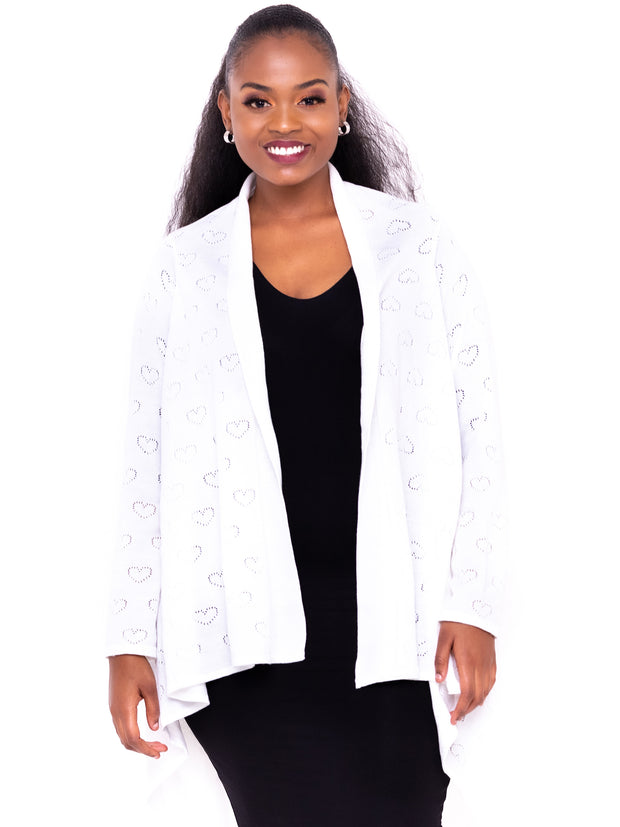 Spinners & Spinners Ladies' Waterfall - White