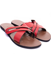 Oye Africa Makina Sandals (Female) - Red / Brown