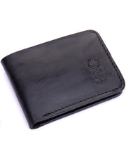 Eden Leather Wallet - Black