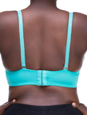 Rokens Collection Lace Bra - Sea Green