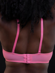 Rokens Collection Pattern Bra - Light Pink