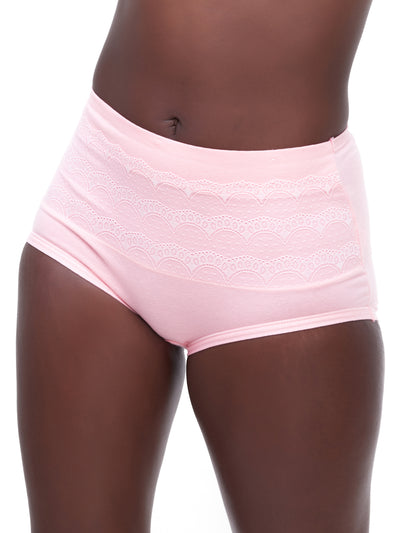 Rokens Collection Cotton Panties - Light Pink