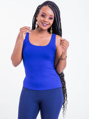 Vivo Basic Tank Tops - Royal Blue - Shop Zetu