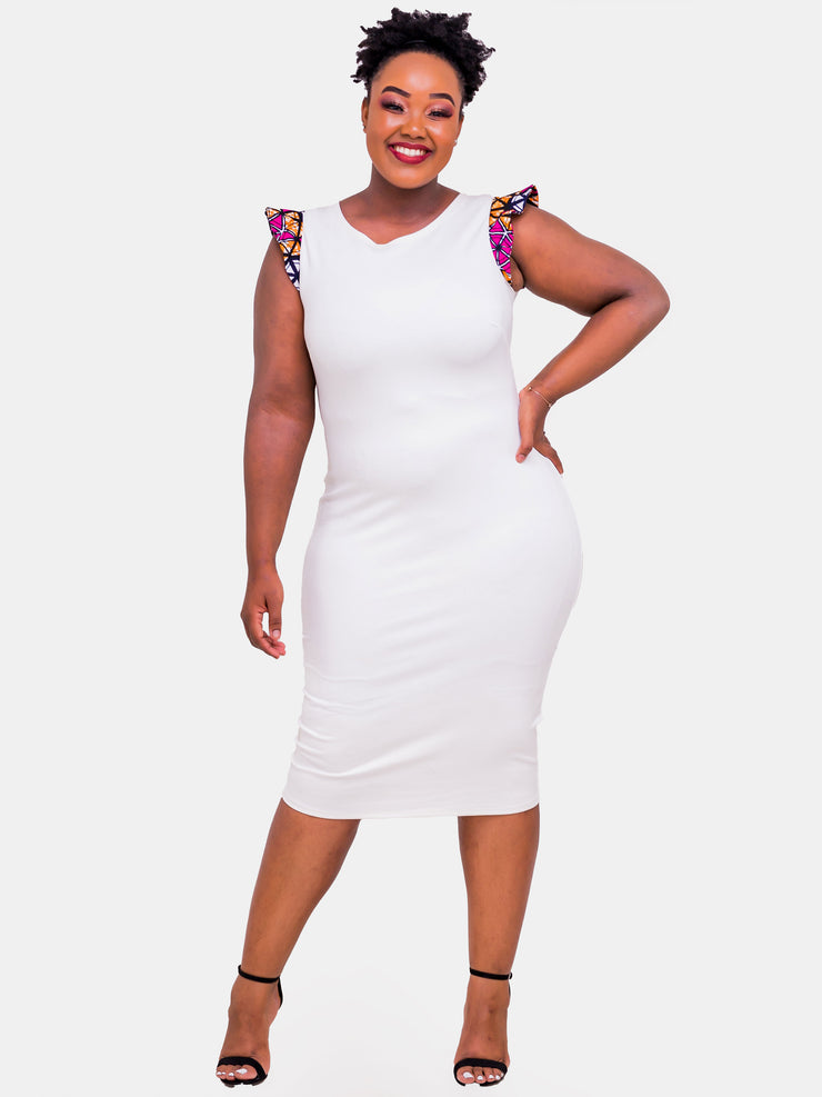 Vivo Pemba Dress - White Print