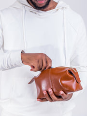 Mandevu Leather Bag