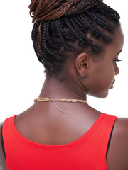 Ithaga Apparel Double Chain - Gold