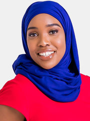 Vivo Basic Hijab Head Wrap - Royal Blue