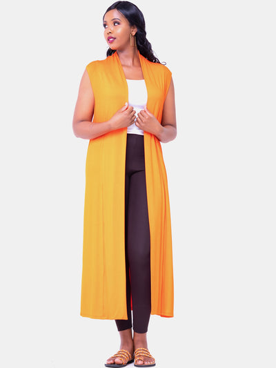 Vivo Sleeveless Lily Waterfall - Orange - Shop Zetu