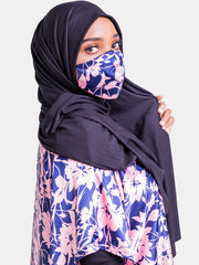 Vivo Black Hijab Head Wrap