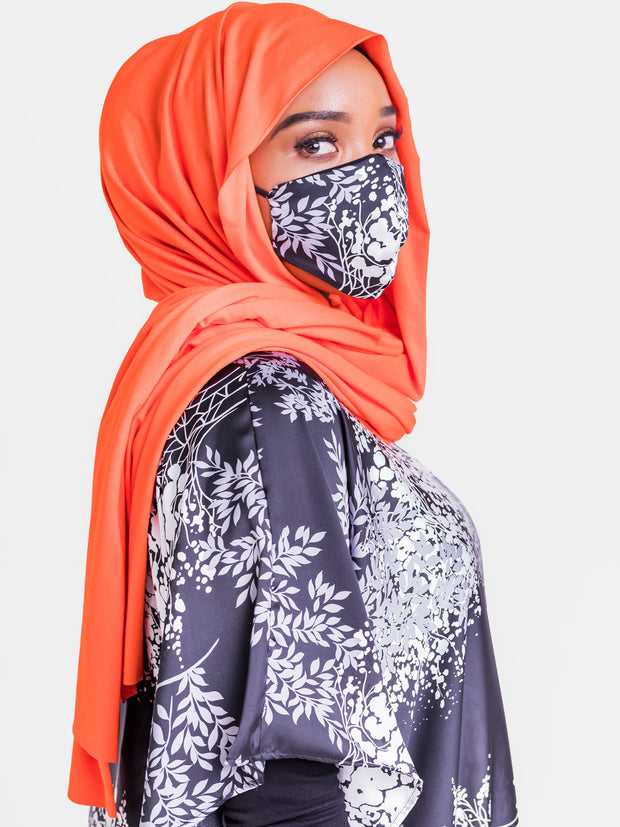 Vivo Basic Hijab Head Wrap - Orange