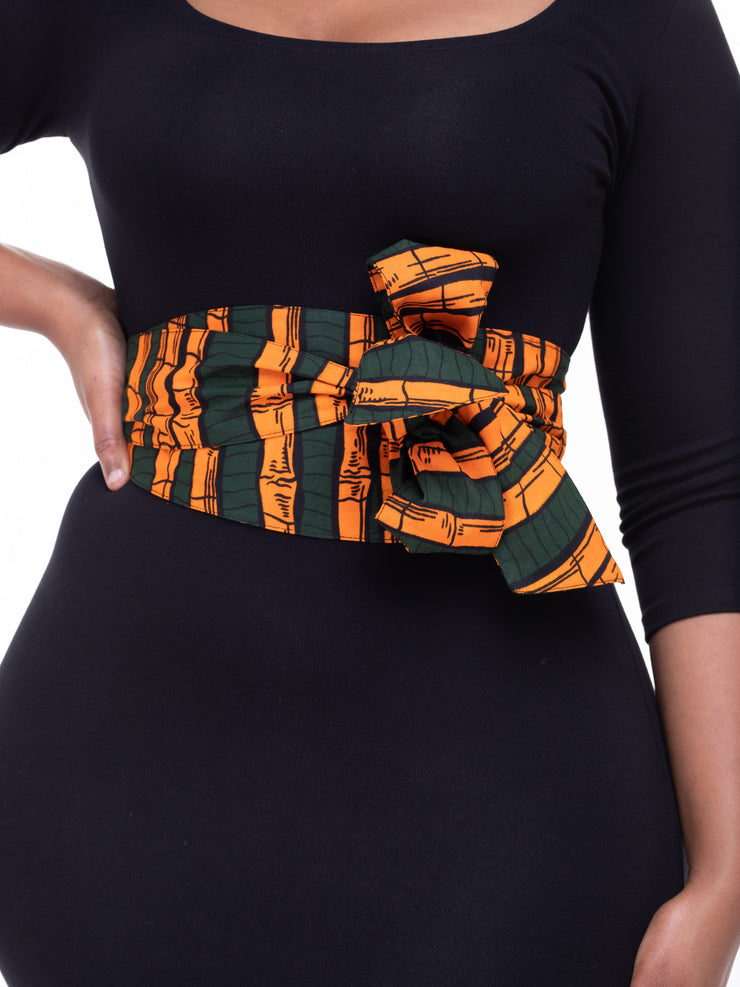 Vivo Aziza Belt - Hunters Print - Shop Zetu