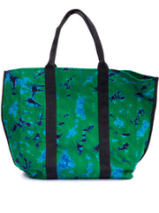 Crafts with Meaning Shopping Bag - Green Print
